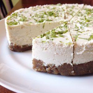 Key Lime Cheesecake (Vegan & Paleo) - PrettyPIes.com