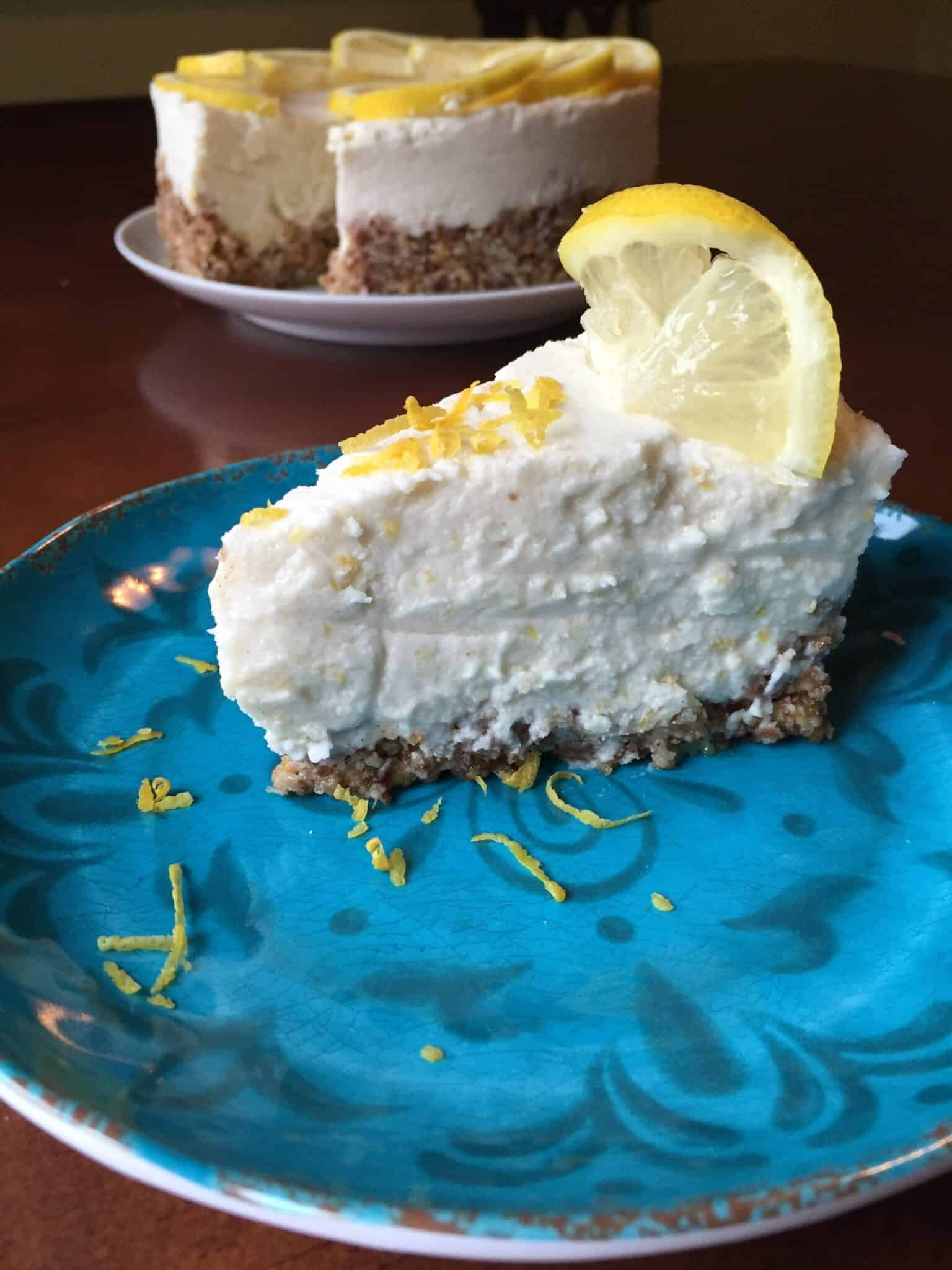 Lemon Icebox Pie {Vegan}