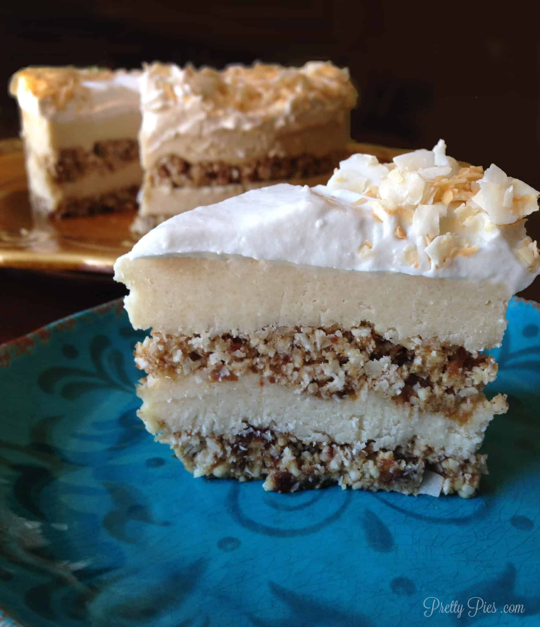 6 Layer Coconut Dream Cake {Raw/Vegan} | Pretty Pies