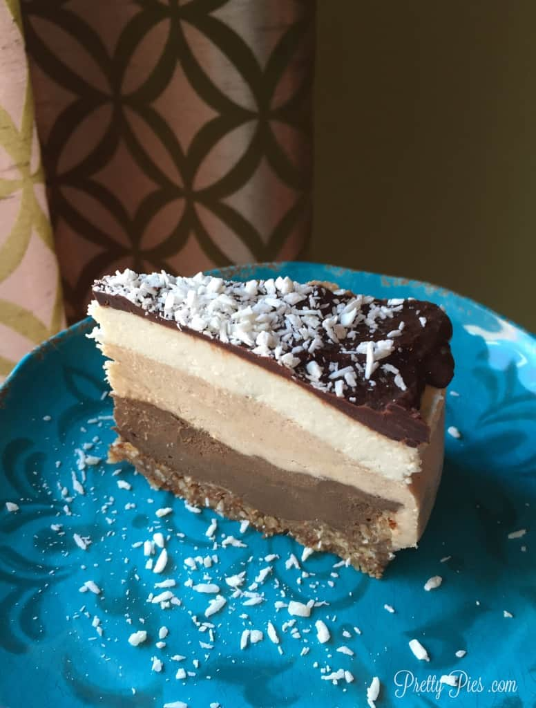 Almond Joy Ice Cream Cake - Vegan, Paleo | Pretty Pies
