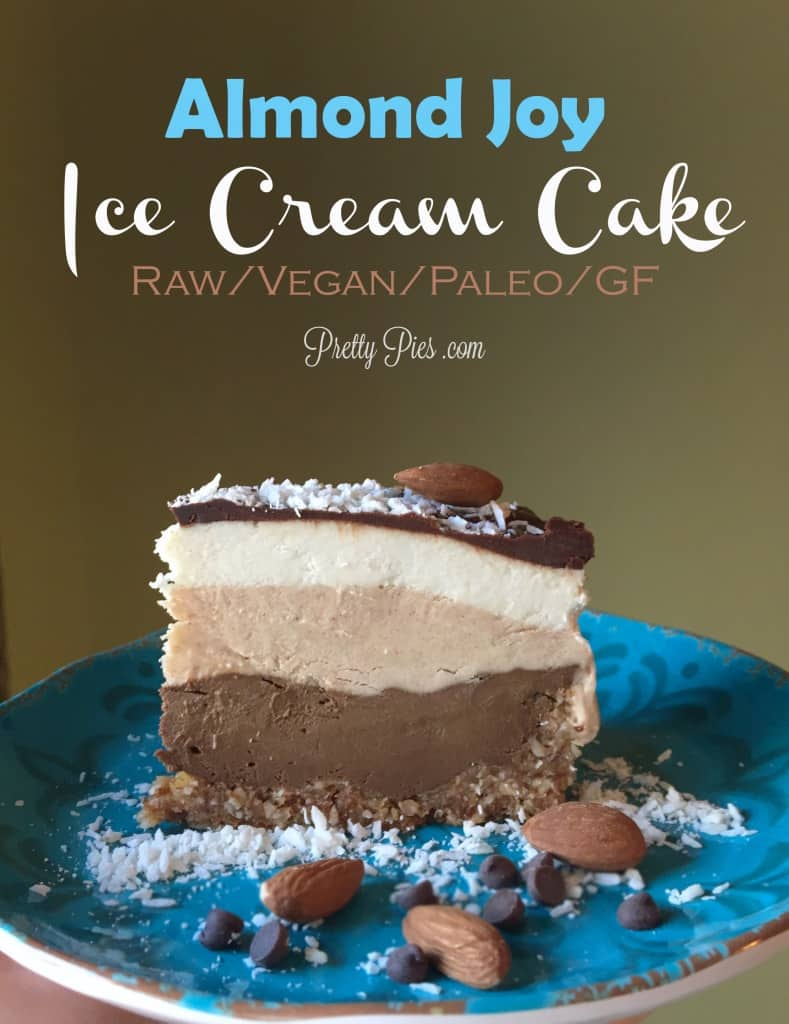 Almond Joy Ice Cream Cake Recipe
