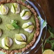 Frozen Mojito Pie - Vegan & Paleo - PrettyPies.com
