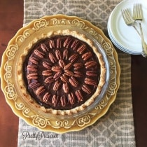 Chocolate Turtle Pie PrettyPies.com