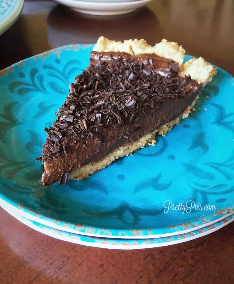 Chocolate Silk Pie | Pretty Pies