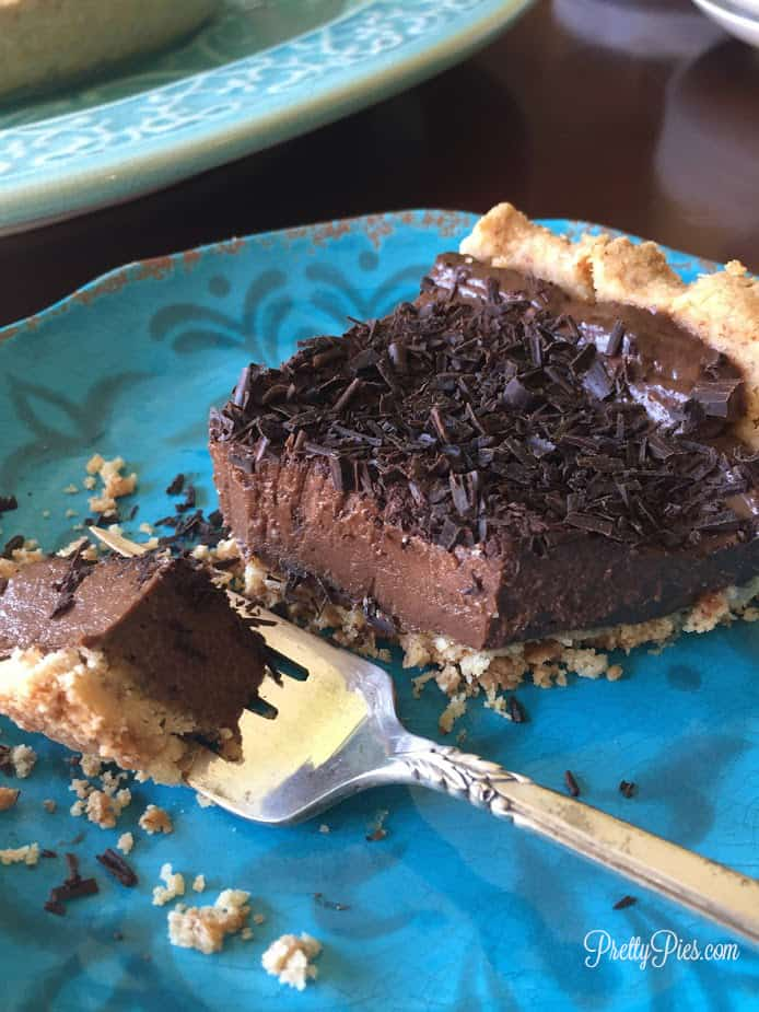 Chocolate Silk Pie | Pretty Pies