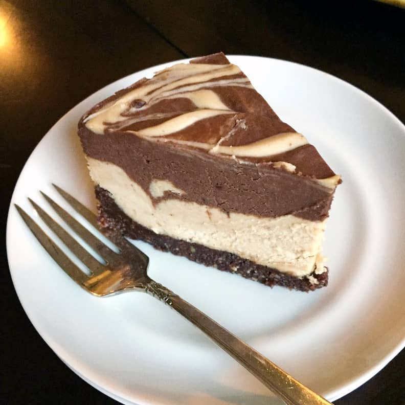 Peanut Butter Cup Cheesecake {Vegan/ Dairy-Free, GF}