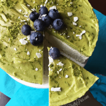 Low Carb Lime Cheesecake | Pretty Pies