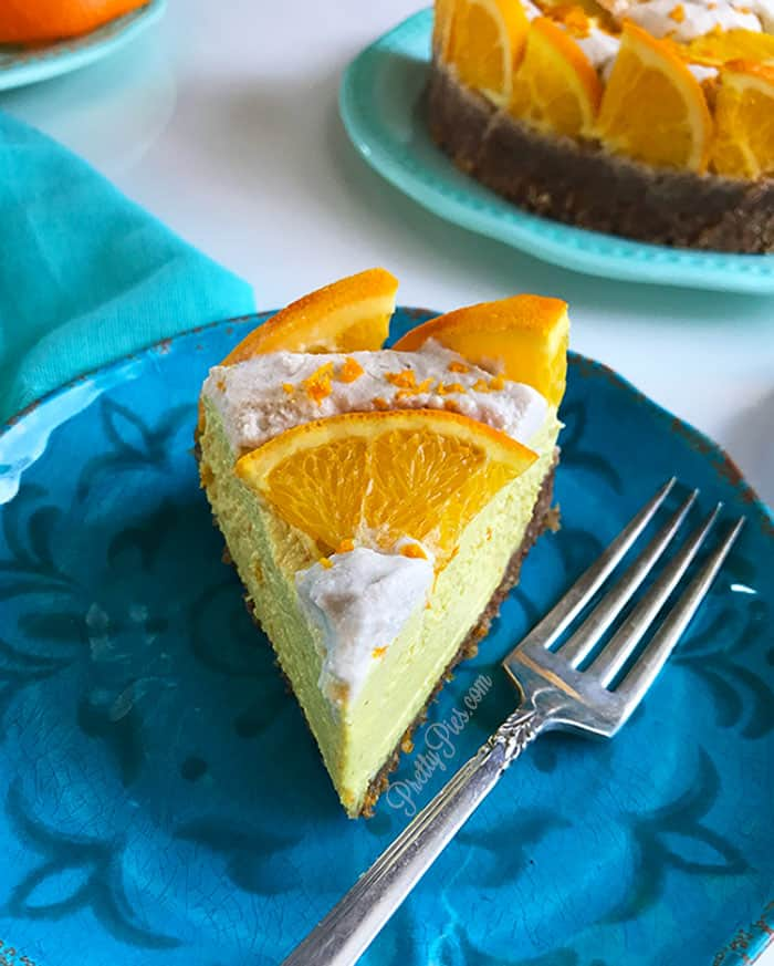 Orange Dreamsicle Cheesecake PrettyPies
