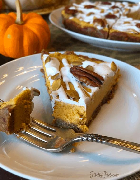 Pumpkin Spice - PrettyPies.com (Vegan, Paleo, No-Bake)