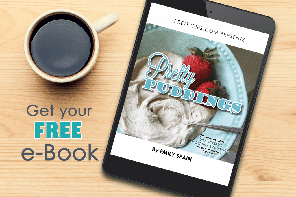 Get your free e-book from Pretty Pies!