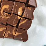 Healthy Reese's Fudge - PrettyPies.com