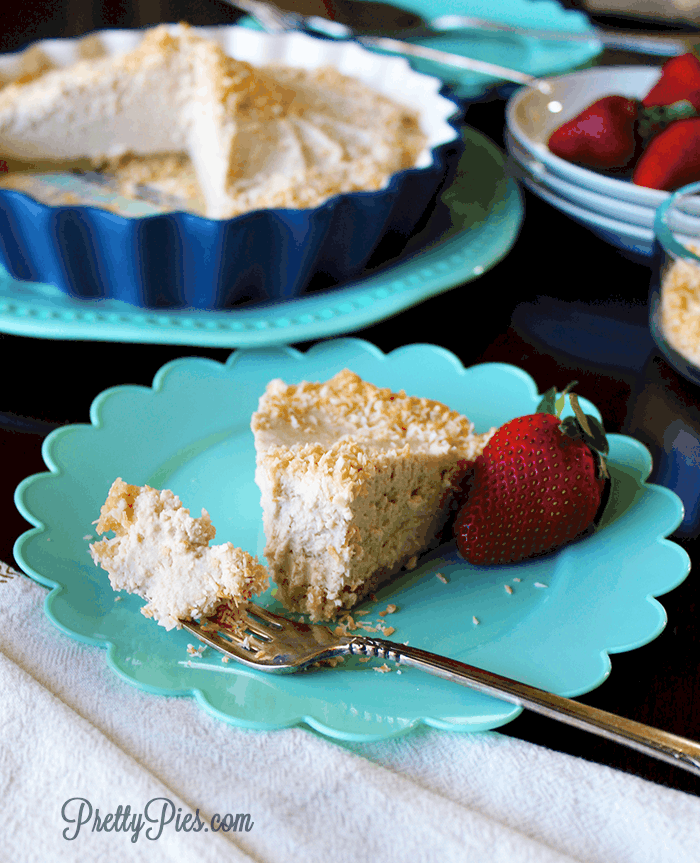 Classic Coconut Cream Pie (Paleo, Vegan) PrettyPies.com