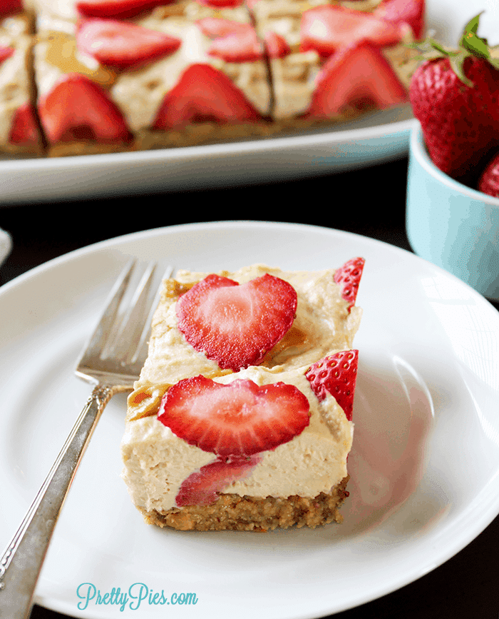 Strawberry Squares With Shortbread Crust