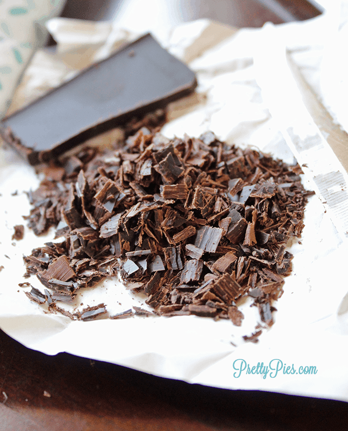 Chocolate Shavings - PrettyPies.com