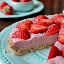 Strawberry Cream Pie (Gluten & Dairy-Free) PrettyPies.com