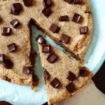 Peanut Butter Cookie Pie (Low-Carb & Vegan) PrettyPies.com