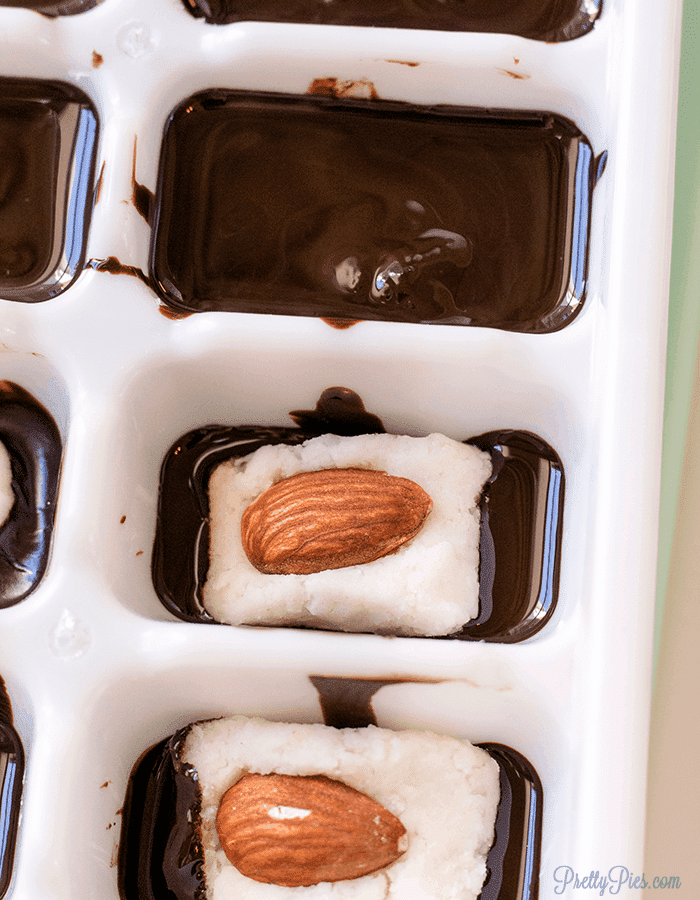Homemade Almond Joy (Keto, Paleo, Vegan) - PrettyPies.com