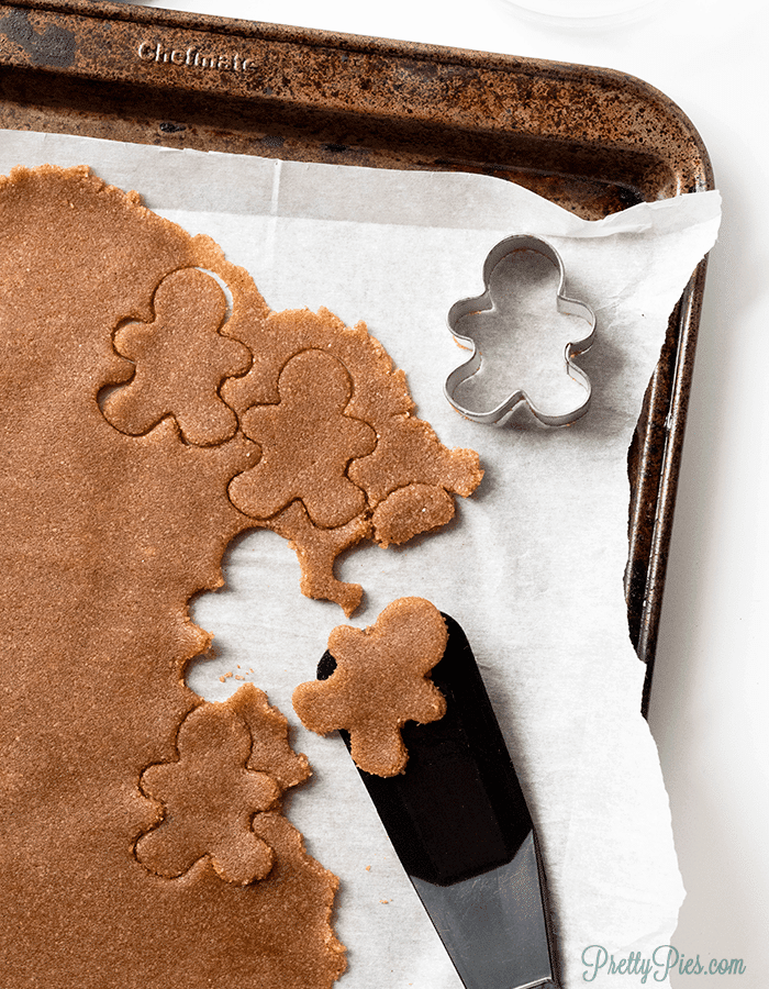 Keto Gingerbread Cookies (GF, Sugar-Free, Low-Carb, Paleo, Vegan)