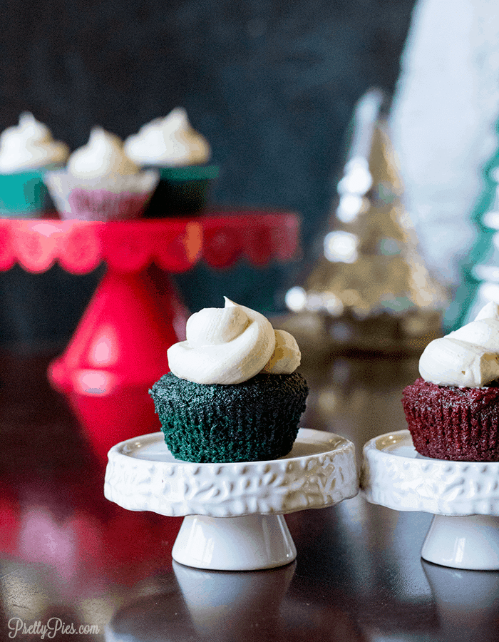 Low-Carb Red Velvet Cupcakes