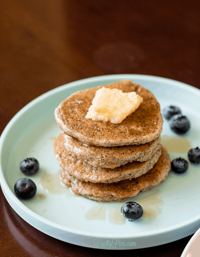 Low-Carb Pancakes (Dairy-Free, Egg-Free) PrettyPies.com