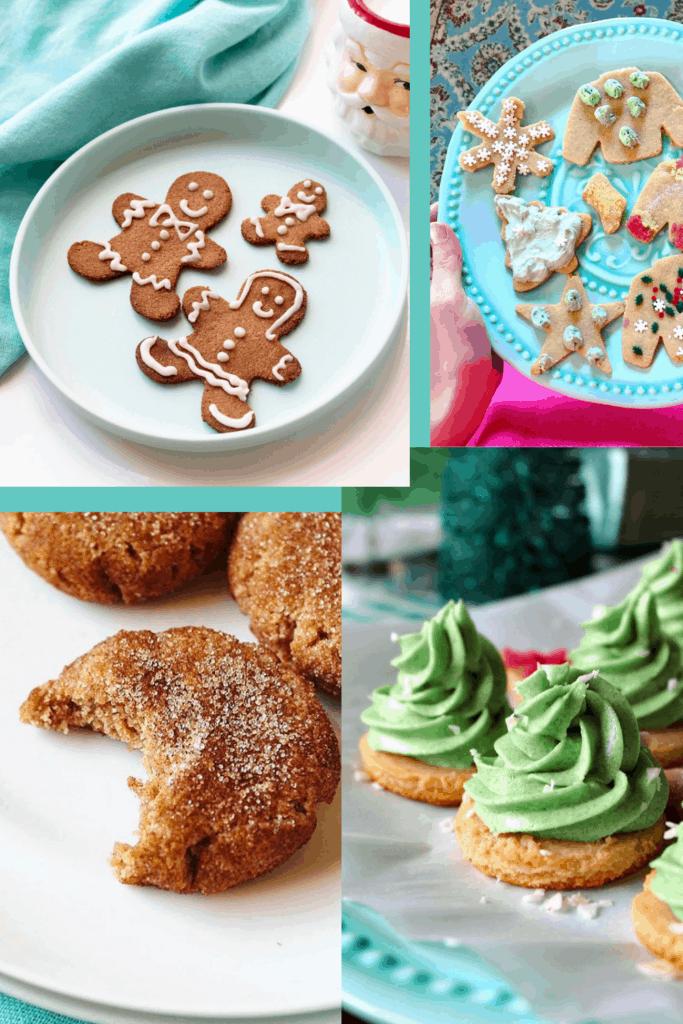 Sugar-Free Christmas Cookies, Keto, Paleo, Vegan) PrettyPies.com