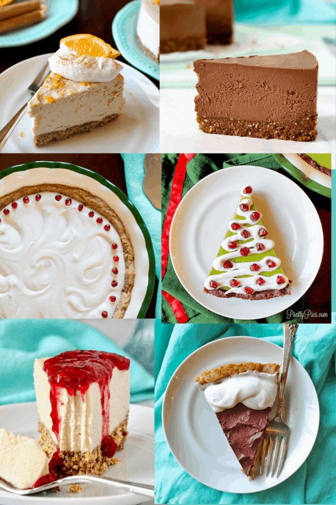 Sugar-Free Christmas Cheesecakes and Pies. Low-Carb, Paleo, Vegan) PrettyPies.com
